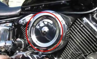 Замена цепи газораспределительного механизма мотоцикла Yamaha XVS 1100 Drag Star (V-Star)