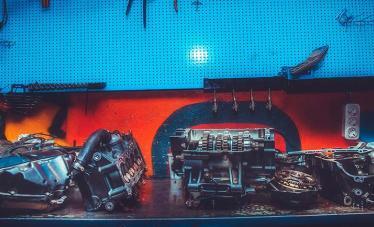 Ремонт мотора мотоцикла