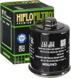 Hiflofiltro мото фильтр масляный HF197