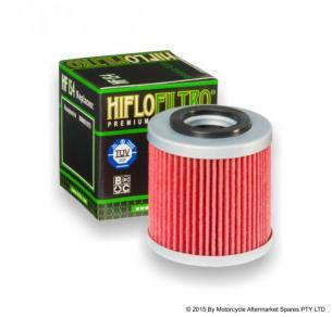 Hiflofiltro мото фильтр масляный HF154
