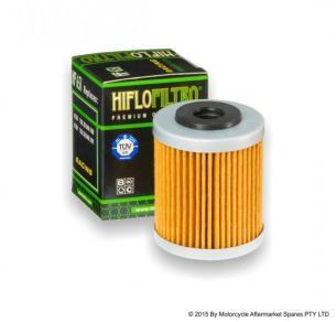 Hiflofiltro мото фильтр масляный HF651